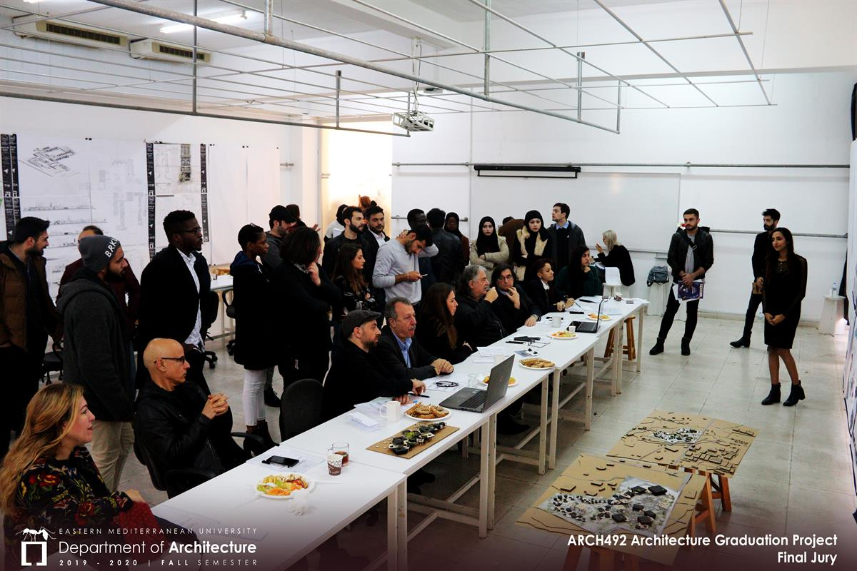 ARCH492 | Graduation Project | Final Jury Photos