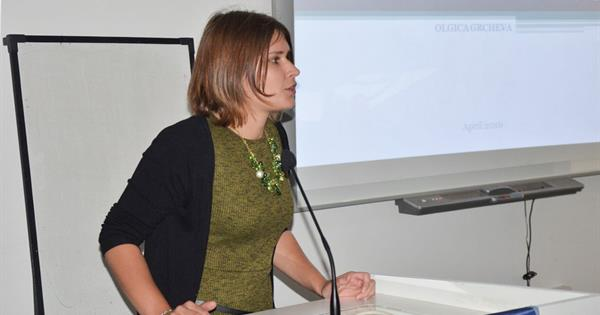 Olgica Grcheva Delivers a Seminar at EMU Architecture Department